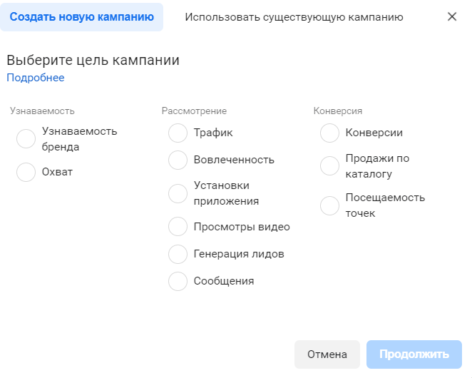 Цель таргета фейсбук Житомир Киев